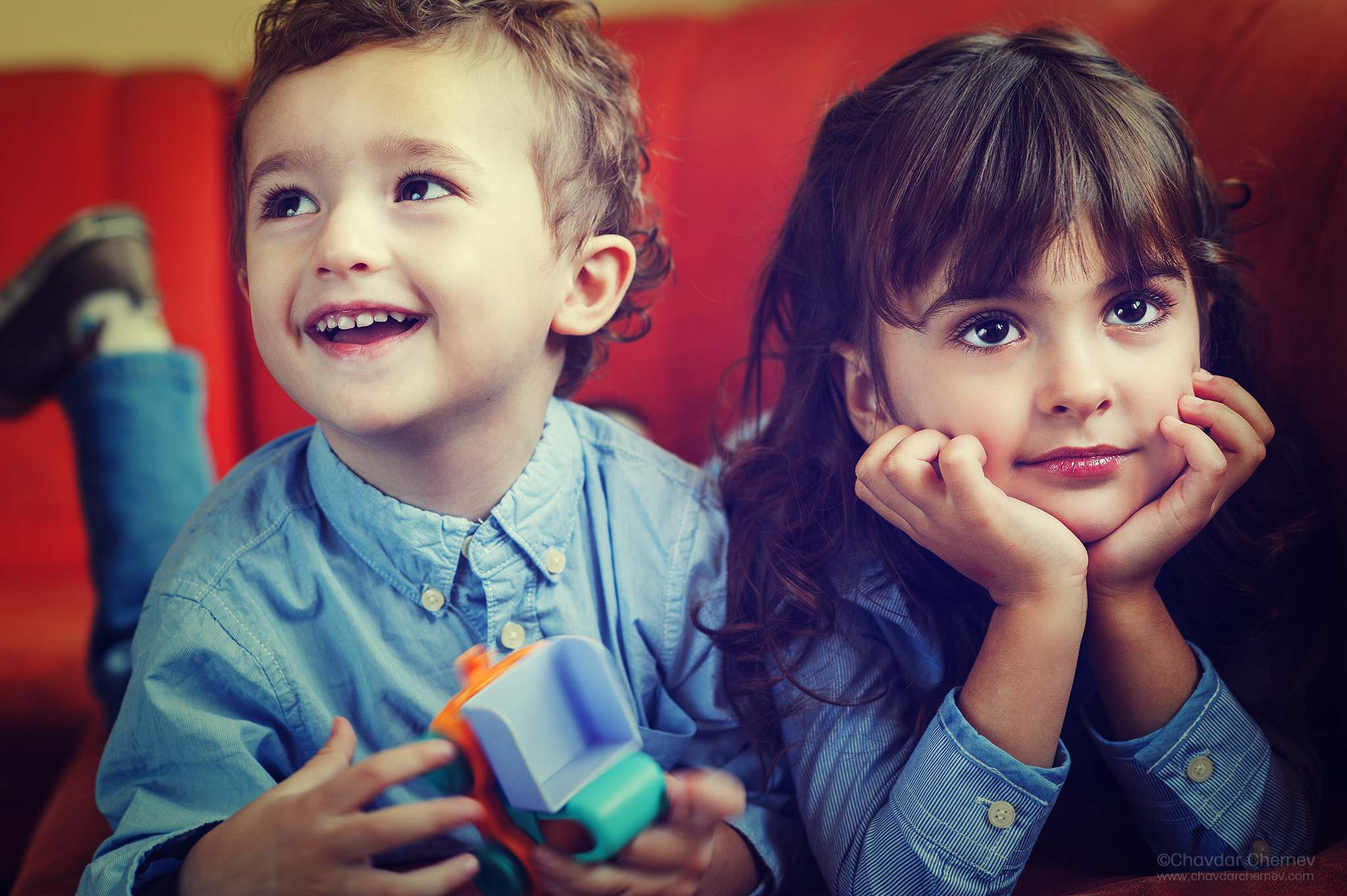 фотограф детски снимки