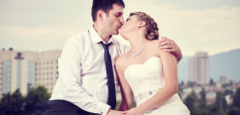 Професионална сватбена фотосесия