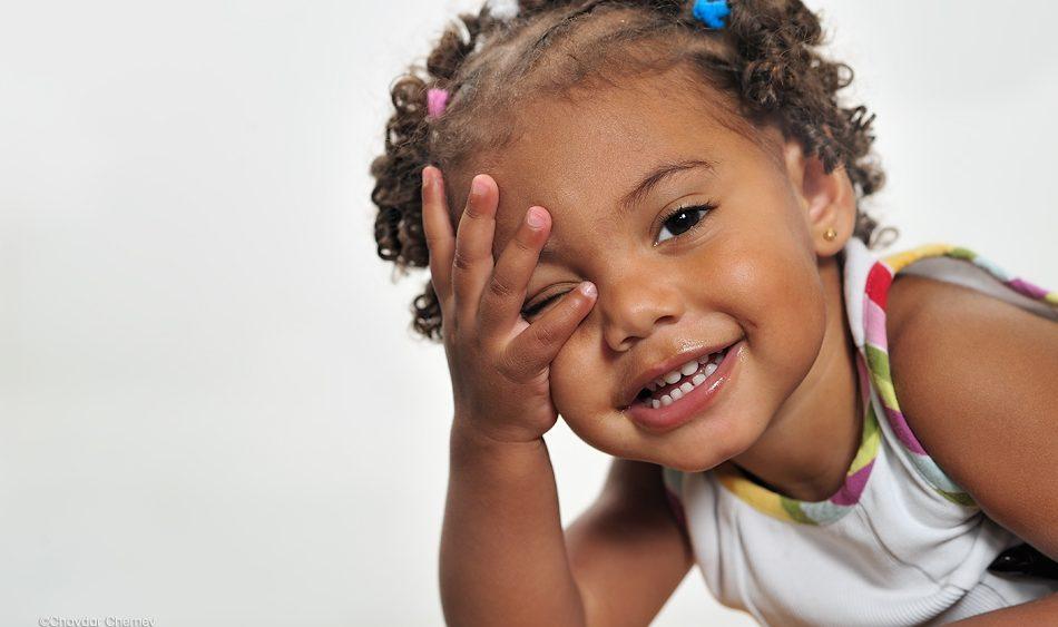 детска студийна фотография