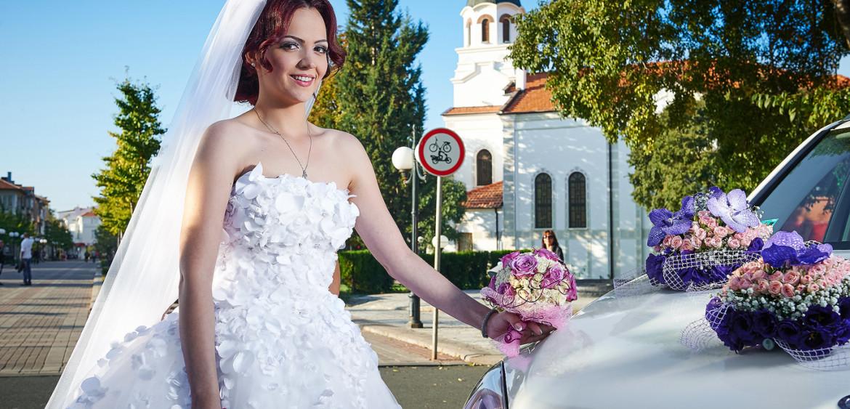 Красива сватба, сватбен фотограф