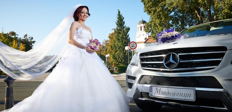 Сватбена фотосесия, сватбен ден